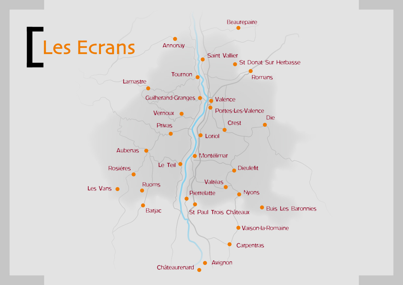Le réseau des Ecrans