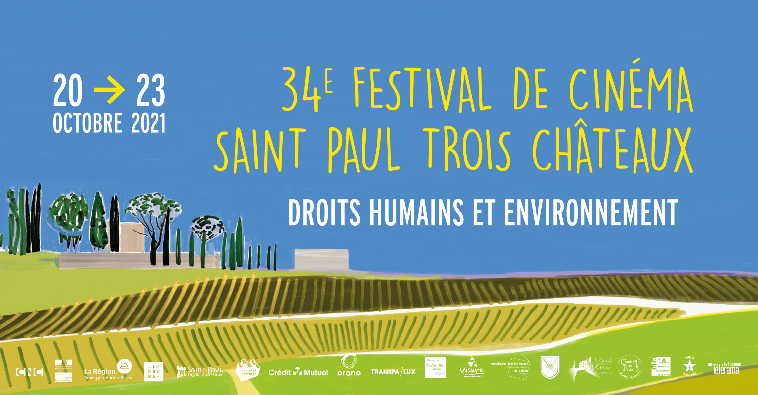 Festival du Film 2021 / Saint Paul Trois Châteaux